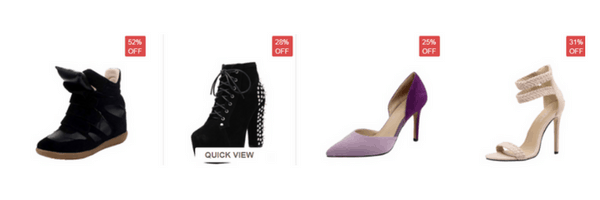 Comprar zapatos en oasap