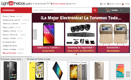 Comprar en lightinthebox