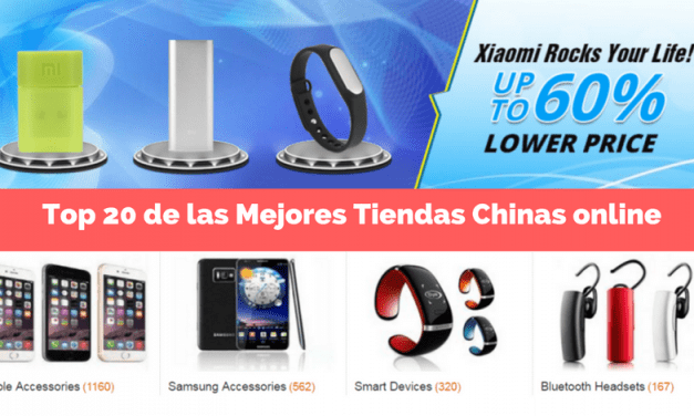 Top 20 De Las Mejores Tiendas Chinas Online