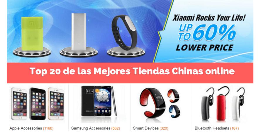 ☺ Top 20 De Las MEJORES Tiendas Chinas Online【Agosto 2018】
