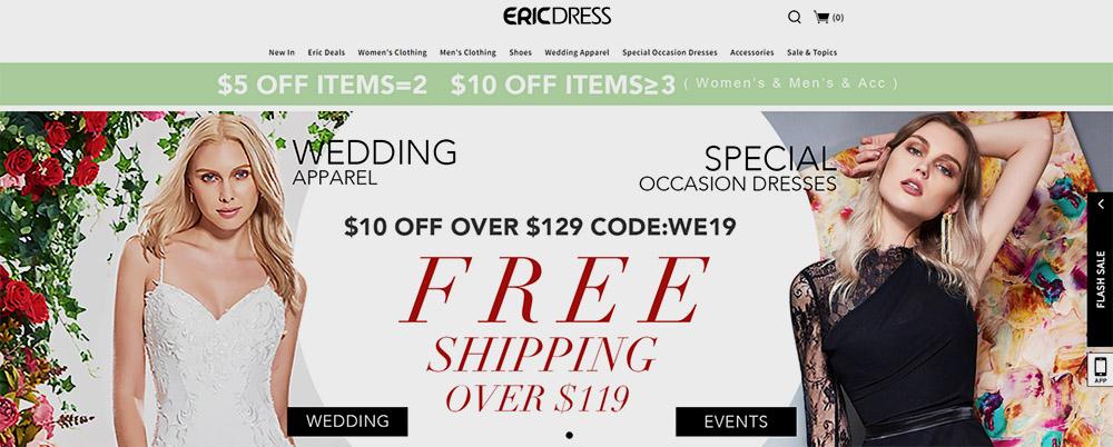 ericdress tienda china de ropa