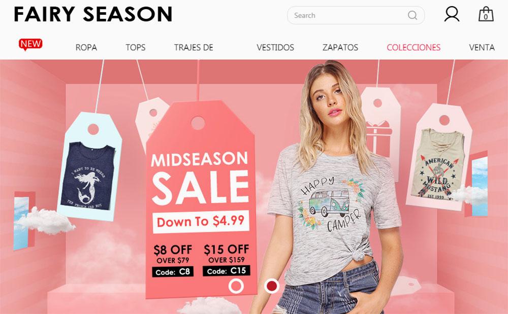 fairy season tienda china online
