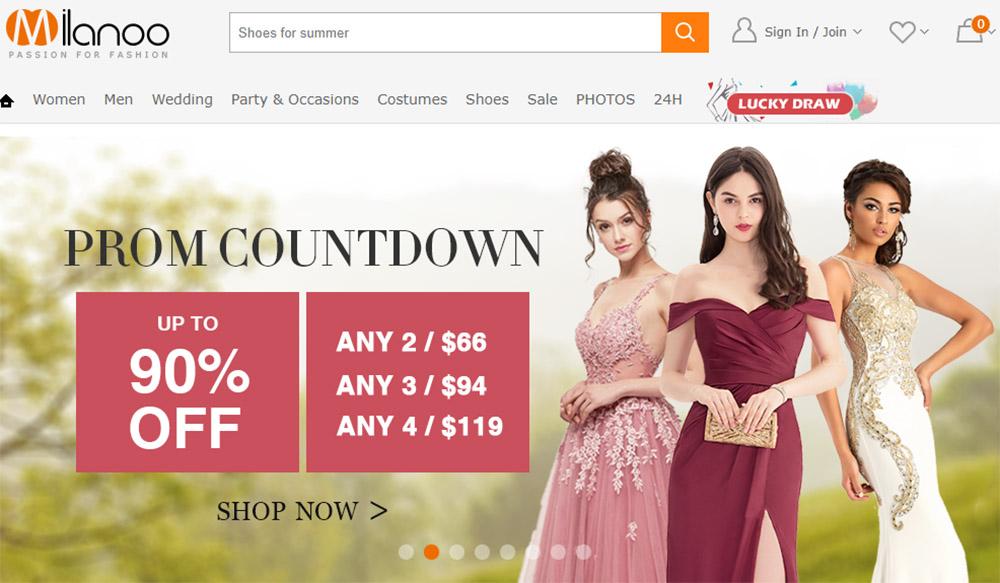 milanoo tiendas chinas online