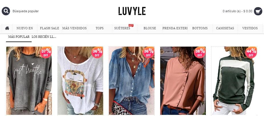 tiendas china de ropa top 20